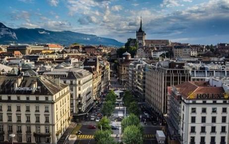 Поощрительная поездка в Швейцарию (Женева)